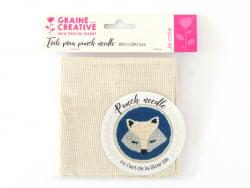 Acheter Coupon de toile pour punch needle - 25 x 25 cm - 3,79€ en ligne sur La Petite Epicerie - 100% Loisirs créatifs