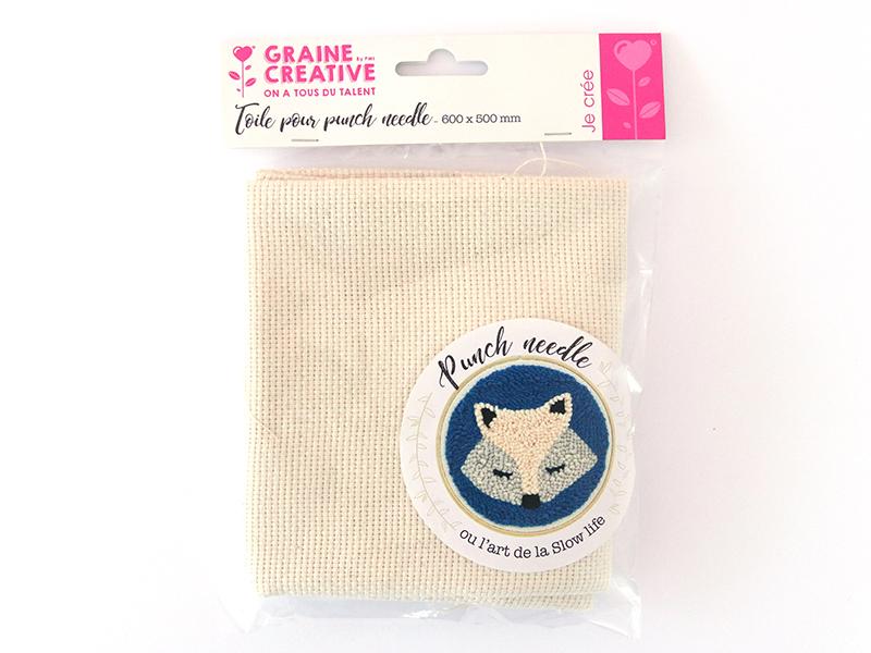 Acheter Coupon de toile pour punch needle - 50 x 60 cm - 9,89€ en ligne sur La Petite Epicerie - 100% Loisirs créatifs