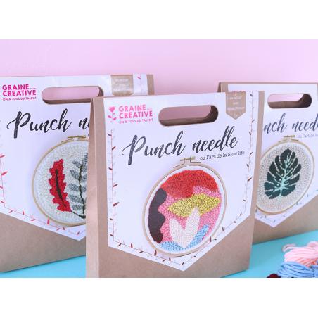 Acheter Kit punch needle - Abstrait - 18,99€ en ligne sur La Petite Epicerie - 100% Loisirs créatifs