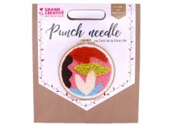 Kit punch needle - Abstrait