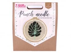 Acheter Kit punch needle - Feuille de monstera - 18,99€ en ligne sur La Petite Epicerie - Loisirs créatifs