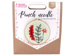 Kit punch needle - Végétal