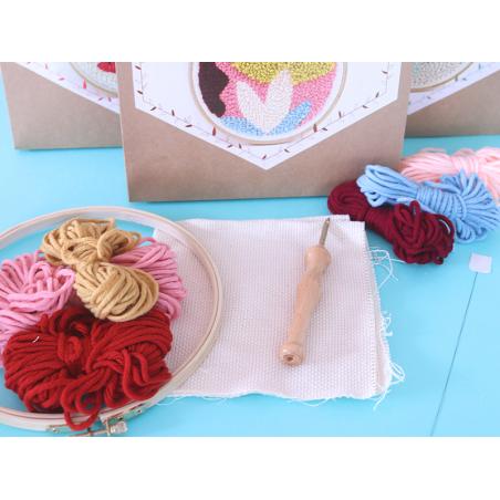 Acheter Kit punch needle - Végétal - 18,99€ en ligne sur La Petite Epicerie - Loisirs créatifs