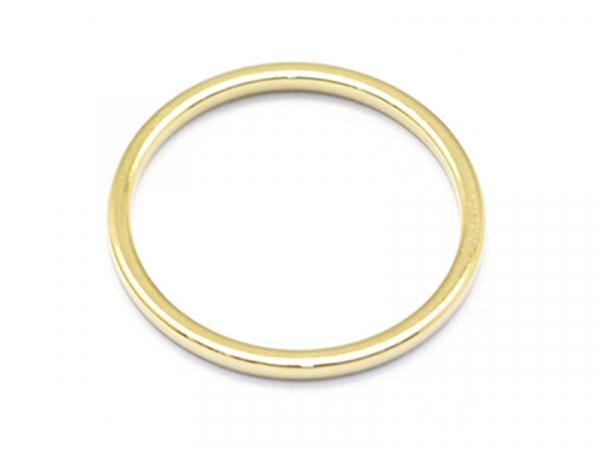 Acheter Anneau de jonction fermé 15mm - doré à l'or fin 18K - 0,69€ en ligne sur La Petite Epicerie - 100% Loisirs créatifs