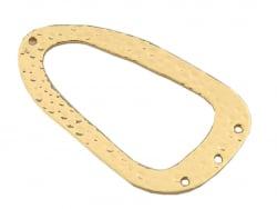 Acheter Pendentif ovale martelé à 3 trous - doré à l'or fin - 2,49€ en ligne sur La Petite Epicerie - 100% Loisirs créatifs