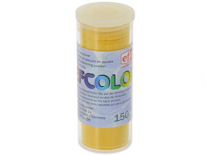Acheter Poudre effet émail / de sur-glaçure - jaune doré - 2,19€ en ligne sur La Petite Epicerie - 100% Loisirs créatifs