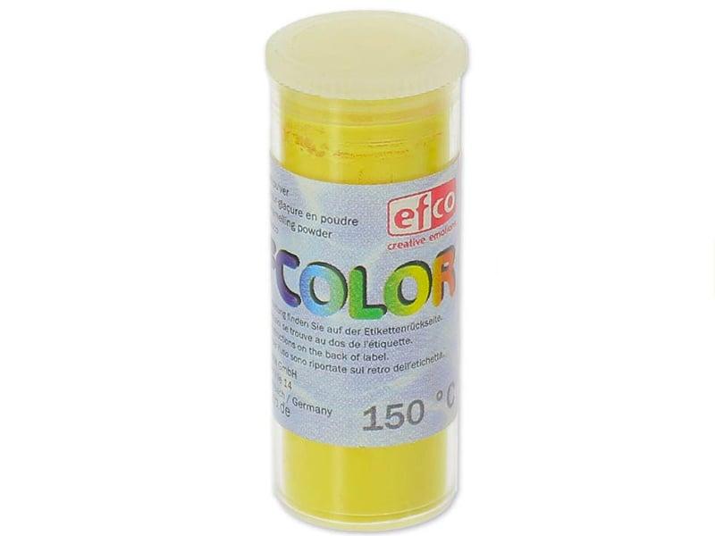 Acheter Poudre effet émail / de sur-glaçure - jaune - 2,19€ en ligne sur La Petite Epicerie - Loisirs créatifs