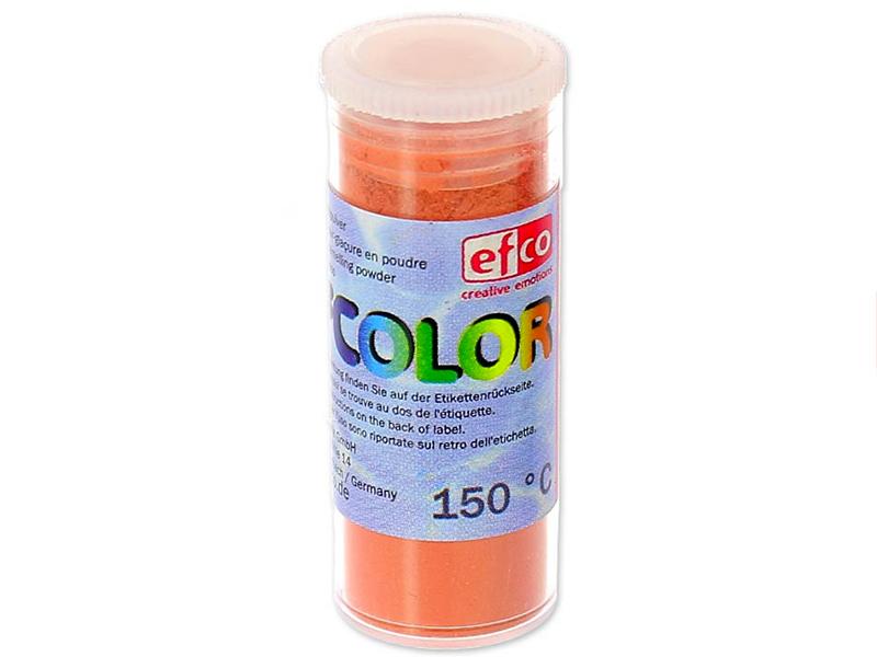 Acheter Poudre effet émail / de sur-glaçure - orange - 2,19€ en ligne sur La Petite Epicerie - 100% Loisirs créatifs