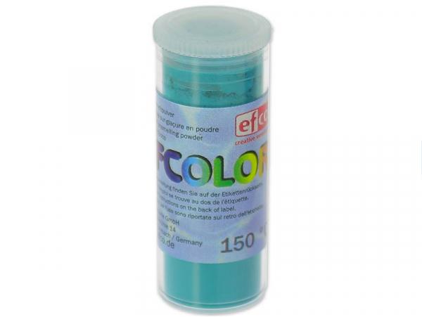 Acheter Poudre effet émail / de sur-glaçure - turquoise - 2,19€ en ligne sur La Petite Epicerie - Loisirs créatifs