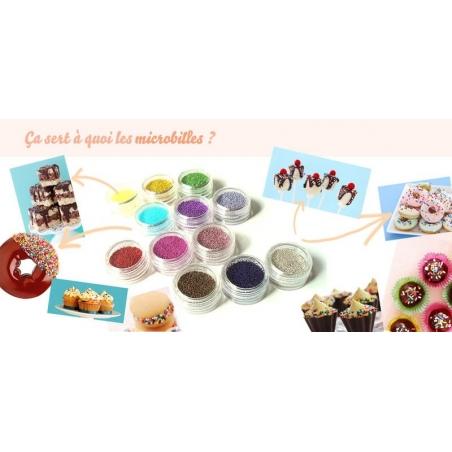 Acheter Lot de 12 couleurs de microbilles métallisées - 15,90€ en ligne sur La Petite Epicerie - Loisirs créatifs