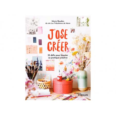 Acheter Livre J'ose créer - 35 défis pour booster sa pratique créative - 20,00€ en ligne sur La Petite Epicerie - 100% Loisi...