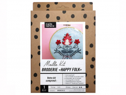 """Acheter Maille Kit - Kit de broderie """"Happy Folk"""" - 24,89€ en ligne sur La Petite Epicerie - 100% Loisirs créatifs"""