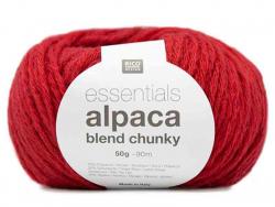 Acheter Laine à tricoter Essentials Alpaga Blend Chunky - Rouge - 6,15€ en ligne sur La Petite Epicerie - Loisirs créatifs