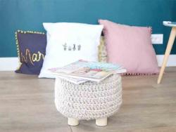 Acheter Tabouret / Repose-pieds à customiser - 14,99€ en ligne sur La Petite Epicerie - 100% Loisirs créatifs