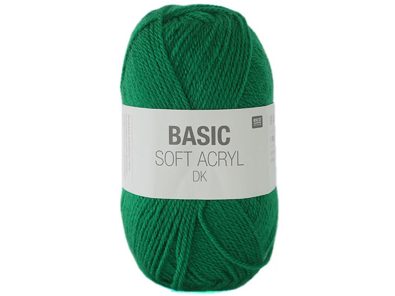 """Acheter Laine """"Basic Soft Acryl"""" - vert 015 - 1,89€ en ligne sur La Petite Epicerie - Loisirs créatifs"""