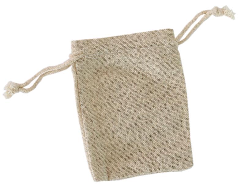 Acheter Pochon en coton beige - 7,5 x 9,5 cm - 0,69€ en ligne sur La Petite Epicerie - 100% Loisirs créatifs