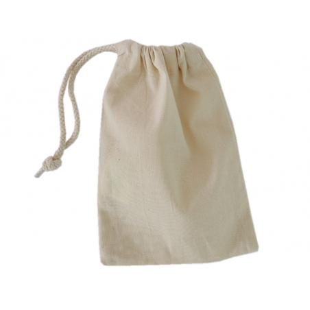 Acheter Pochon en coton beige - 14 x 20,5 cm - 3,19€ en ligne sur La Petite Epicerie - Loisirs créatifs