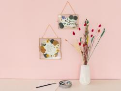 Acheter Planche de 18 fleurs pressées - mixte orange - 7,99€ en ligne sur La Petite Epicerie - Loisirs créatifs