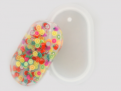 Acheter Moule en silicone - pendentif rectangle arrondi 7 cm - 3,99€ en ligne sur La Petite Epicerie - Loisirs créatifs