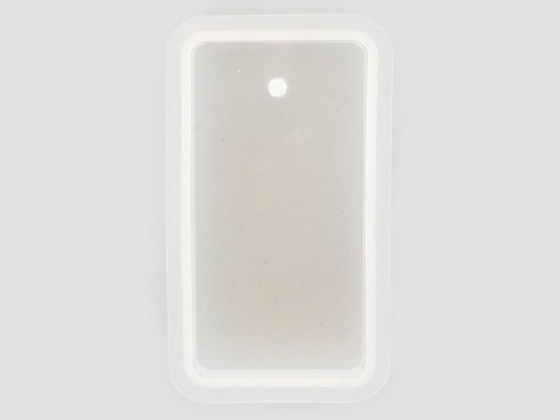 Acheter Moule en silicone - pendentif rectangulaire 7 cm - 3,99€ en ligne sur La Petite Epicerie - Loisirs créatifs