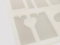 Acheter Planche de 13 moules en silicone - 7,99€ en ligne sur La Petite Epicerie - Loisirs créatifs