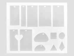 Acheter Planche de 13 moules en silicone - 7,99€ en ligne sur La Petite Epicerie - 100% Loisirs créatifs