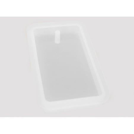 Acheter Moule en silicone - pendentif rectangulaire 7 cm - 3,99€ en ligne sur La Petite Epicerie - 100% Loisirs créatifs