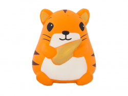 Squishy hamster orange