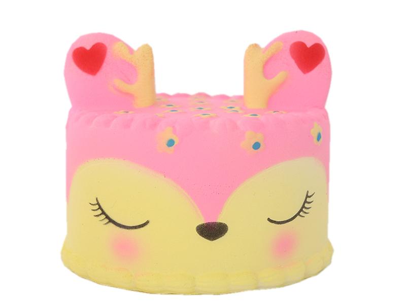 Acheter Squishy gâteau biche - rose - 10,99€ en ligne sur La Petite Epicerie - 100% Loisirs créatifs