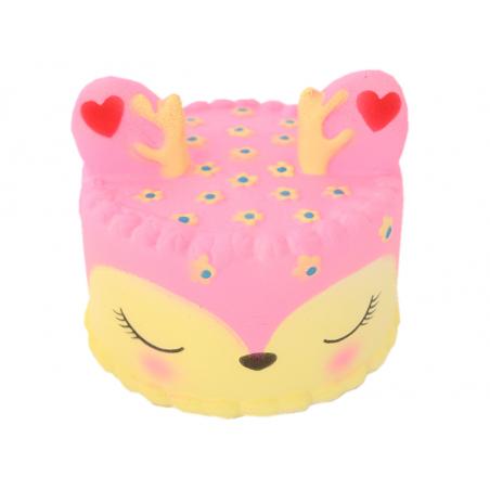 Acheter Squishy gâteau biche - rose - 10,99€ en ligne sur La Petite Epicerie - Loisirs créatifs