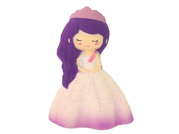 Squishy princesse violette