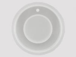Acheter Moule en silicone - pendentif rond 6 cm - 3,99€ en ligne sur La Petite Epicerie - 100% Loisirs créatifs
