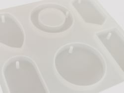 Acheter Planche de 6 moules en silicone - 8,99€ en ligne sur La Petite Epicerie - 100% Loisirs créatifs