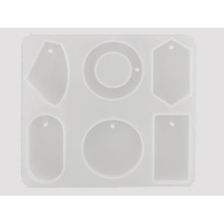 Acheter Planche de 6 moules en silicone - 8,99€ en ligne sur La Petite Epicerie - Loisirs créatifs