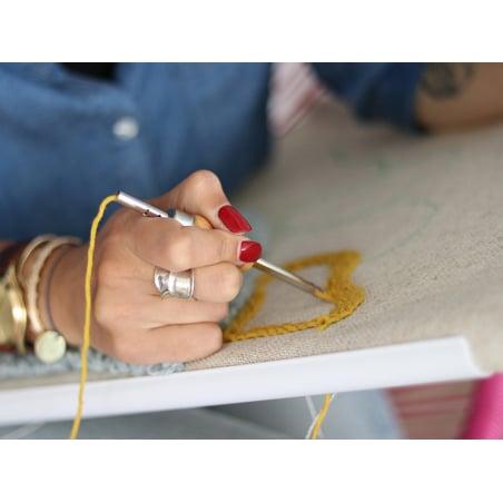 Acheter Cadre à quilter : pour punch needle, broderie, ... - 20,3 cm x 20,3 cm - 12,99€ en ligne sur La Petite Epicerie - Lo...