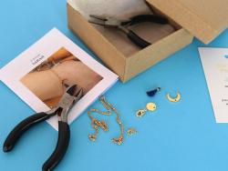 Acheter Bracelet Sarah - Kit bijoux précieux dorés à l'or fin - 12,90€ en ligne sur La Petite Epicerie - Loisirs créatifs