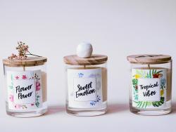 Acheter Kit bougie DIY - Tropical Vibes - 22,99€ en ligne sur La Petite Epicerie - 100% Loisirs créatifs