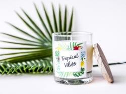 Acheter Kit bougie DIY - Tropical Vibes - 22,99€ en ligne sur La Petite Epicerie - Loisirs créatifs