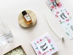 Acheter Kit bougie DIY - Flower Power - 22,99€ en ligne sur La Petite Epicerie - 100% Loisirs créatifs