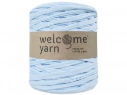 Acheter Grande bobine de fil trapilho - bleu à petits chevrons blancs - 7,90€ en ligne sur La Petite Epicerie - 100% Loisirs...