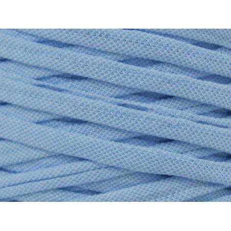 Acheter Grande bobine de fil trapilho - bleu moyen avec petits chevrons blancs - 7,90€ en ligne sur La Petite Epicerie - Loi...