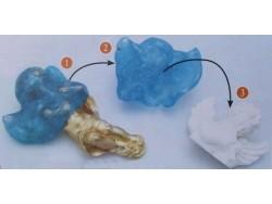 Turquoise blue OYUMARU putty