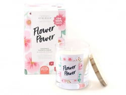 Kit bougie DIY - Flower Power