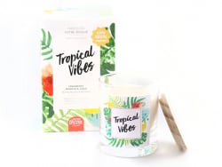 Kit bougie DIY - Tropical...