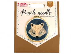 Kit punch needle - Renard Graine Créative by PWI