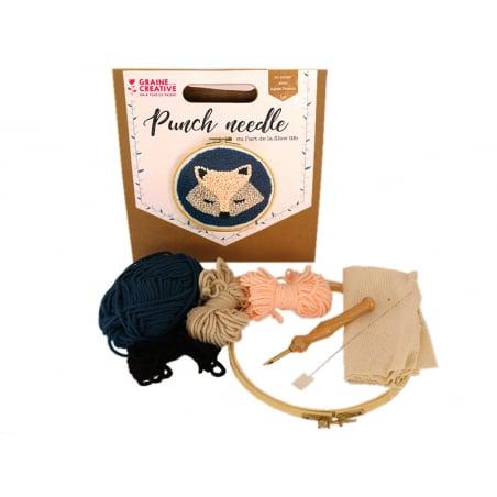 Acheter Kit punch needle - Renard - 18,99€ en ligne sur La Petite Epicerie - Loisirs créatifs