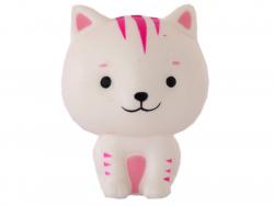 Squishy chaton tigré blanc...
