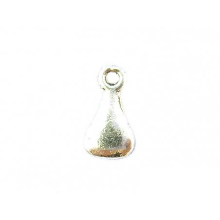 Acheter 1 Breloque goutte avec un trou , argentée - 0,29€ en ligne sur La Petite Epicerie - Loisirs créatifs