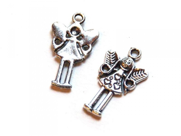1 little fairy charm - silver-coloured