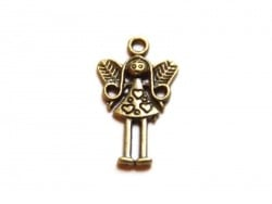 1 little fairy charm - bronze-coloured